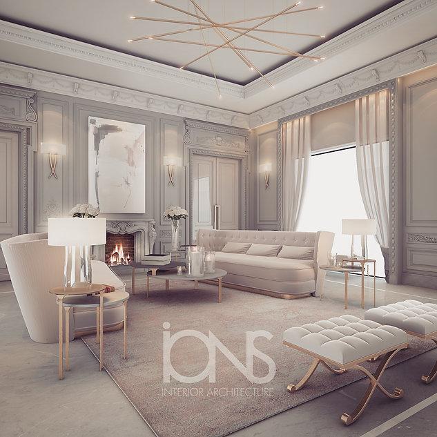 Private Palace interior design Abu Dhabi UAE Dining rooms