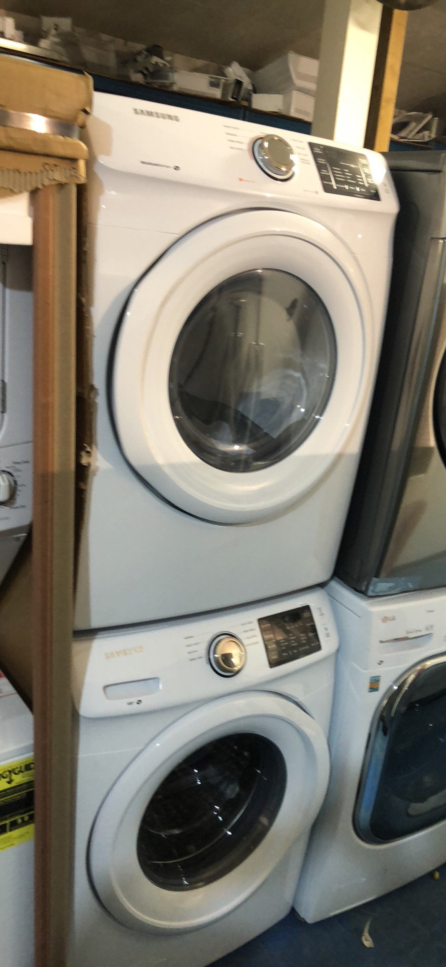 New Washer And Dryer 27 Samsung Brand New Open Box Stackable Washer Dryer Set With 1 Year Warranty
