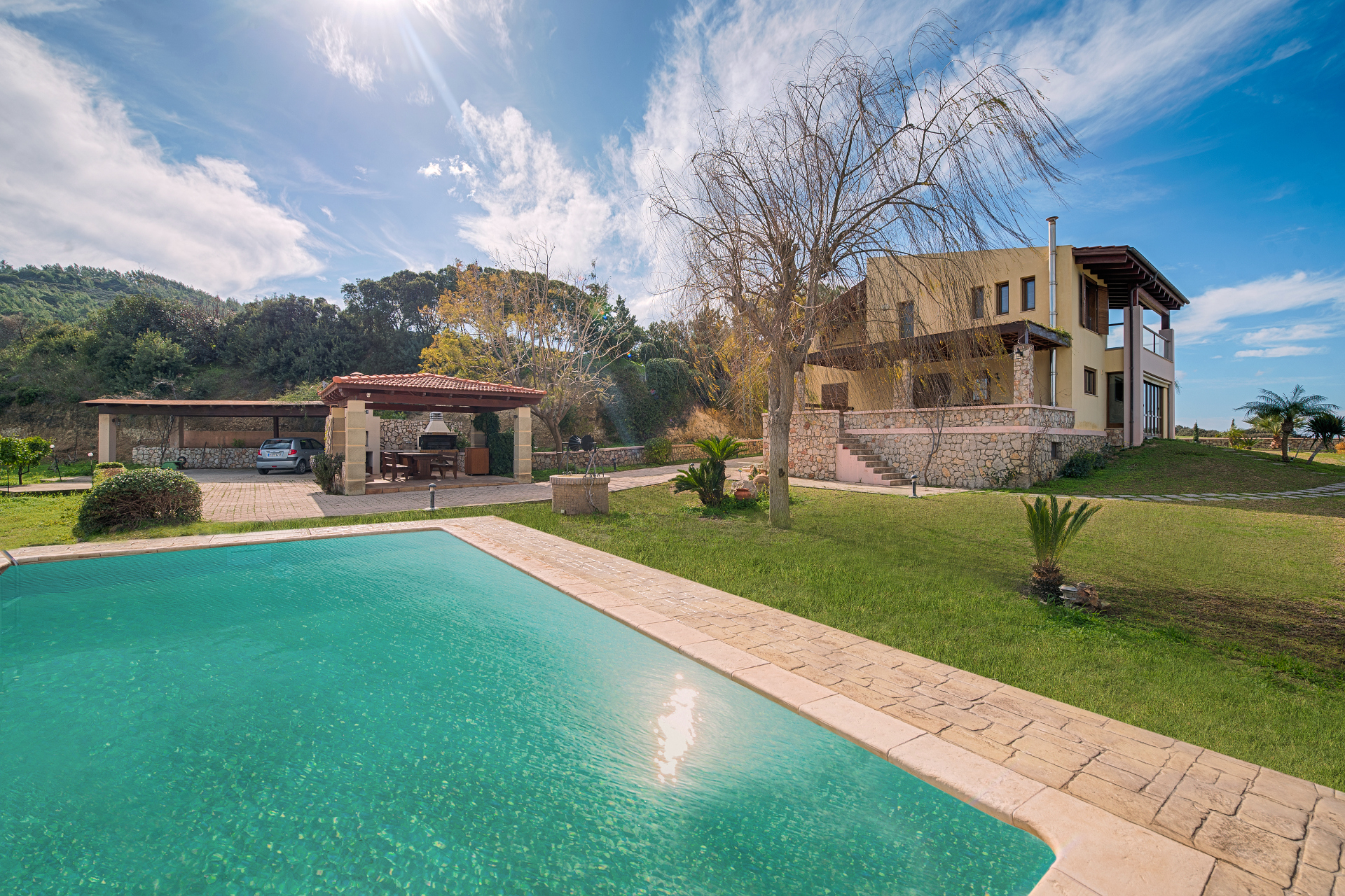 Accommodation Villa Russelia In Rhodes Greece - Rhodos Luxusvilla