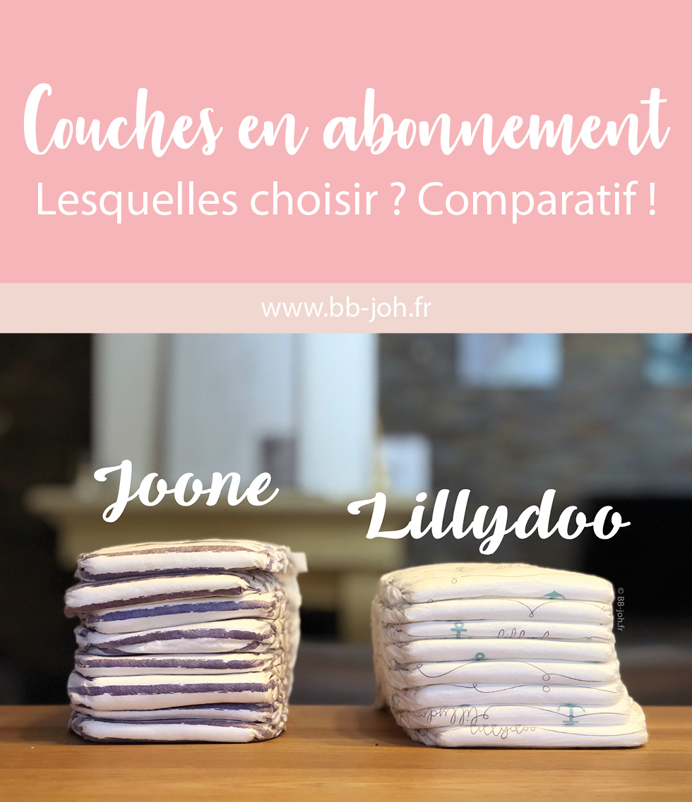 Marques De Couches Lillydoo Vs Joone Test Des Couches En Abonnement Bb Joh Blog