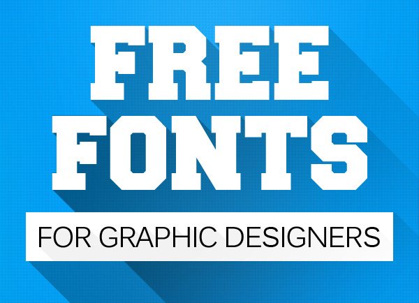 20 of the Best Free Fonts for Designers Best After Effects