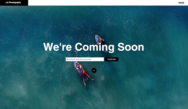 Coming Soon Website Templates Landing Pages Wix