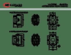 1 pole contactor ledningsdiagram