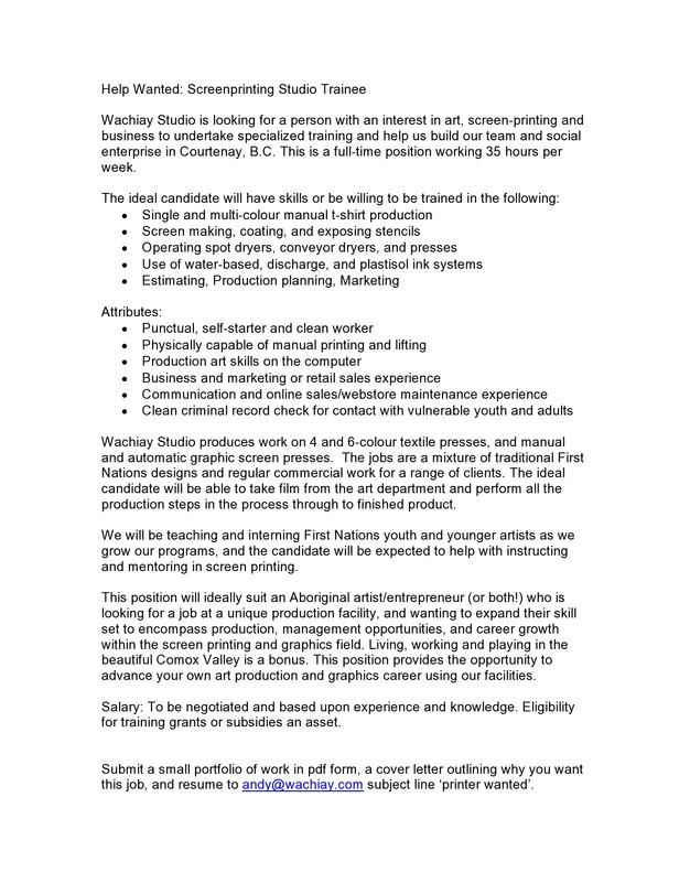 Printing Estimator Cover Letter Cvresumeunicloudpl