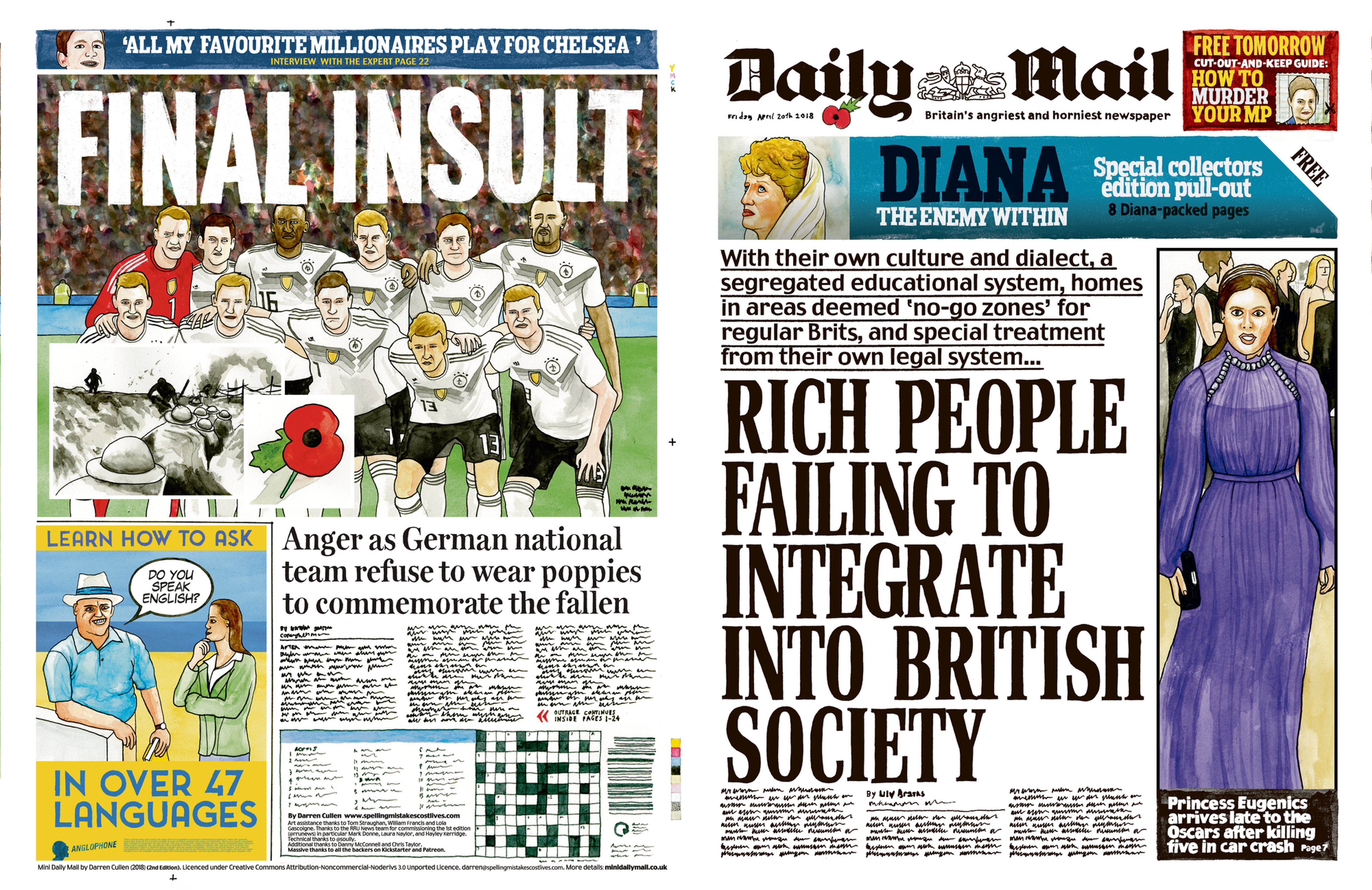 Arte Final English Mini Daily Mail