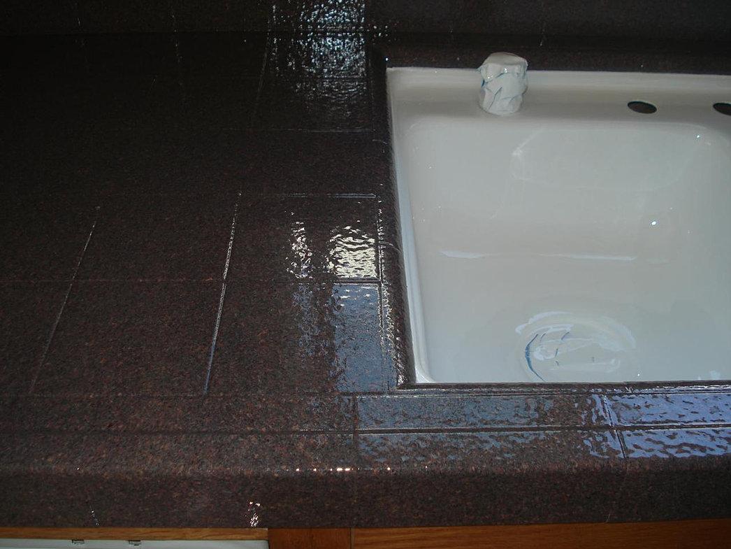 sink reglazing refinish kitchen sink Kitchen Sink Refinished after