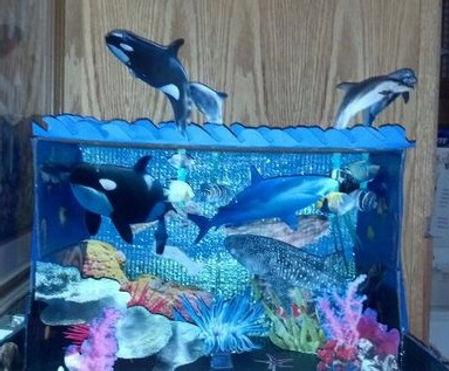 Ocean dioramas