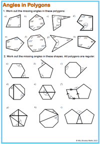 Polygon Angles Worksheet Free Worksheets Library ...