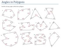 Polygon Angle Sum Worksheet - Calleveryonedaveday