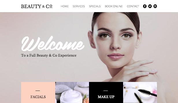 Hair  Beauty Website Templates Fashion  Beauty Wix