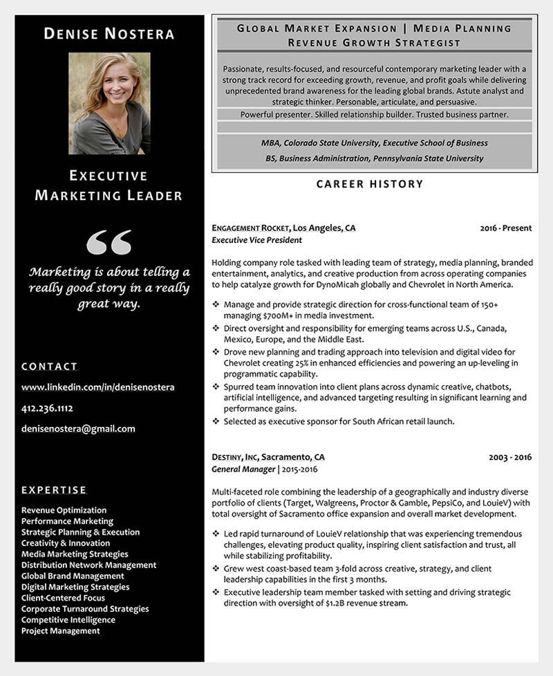 Résumé Samples Write-Résumé-For-The-Job