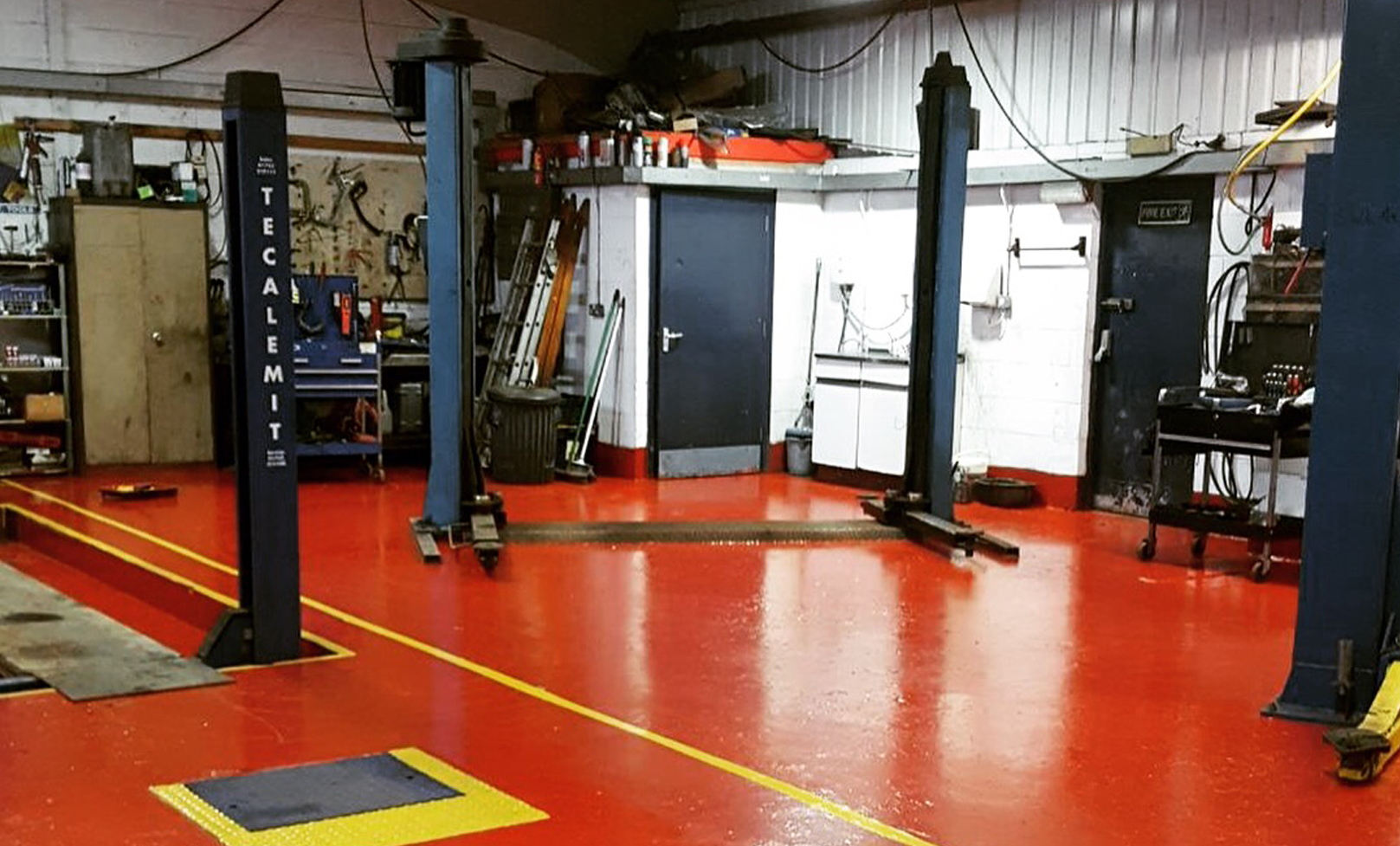 Garage Gym With Car Car Van Mot Servicing Repair Garage Carlisle Gw Auto Repairs