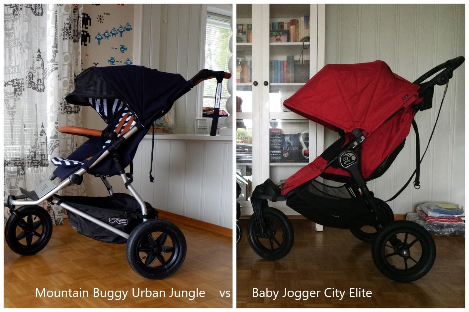 City Jogger Vs Mountain Buggy