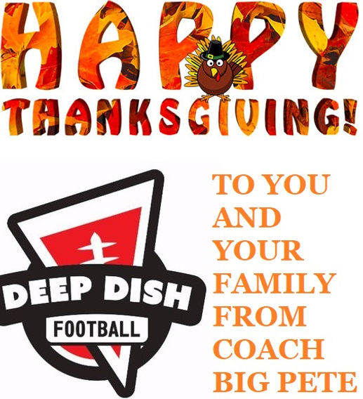 Happy Thanksgiving Illinois High School Football Nation And Thank