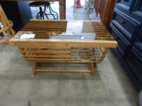 Lobster Trap Coffee Table   Rebound Furniture and Consignment
