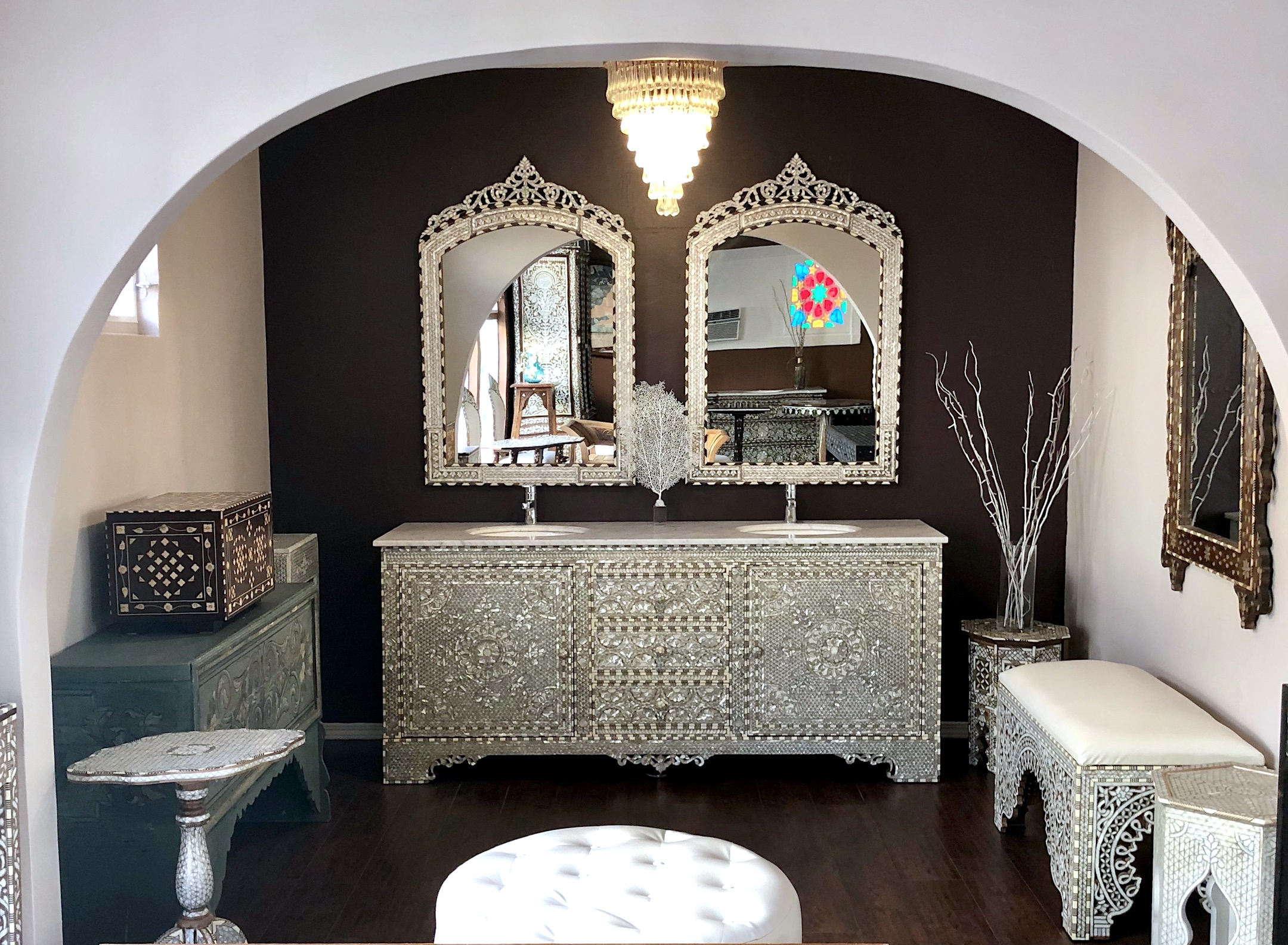 Syrian Furniture Moroccan Furniture Los Angeles
