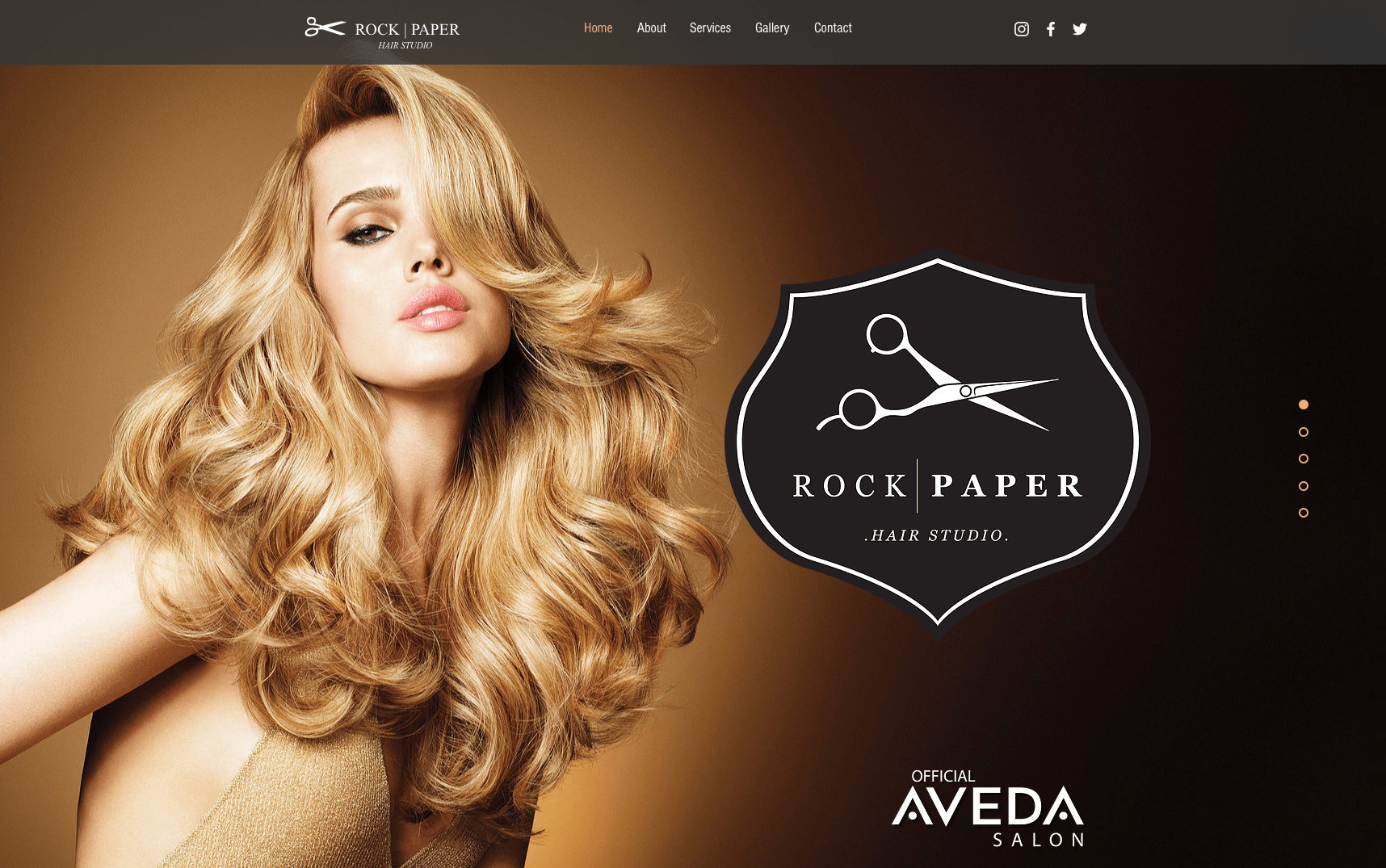 Salon Hair Rock Paper Hair Studio