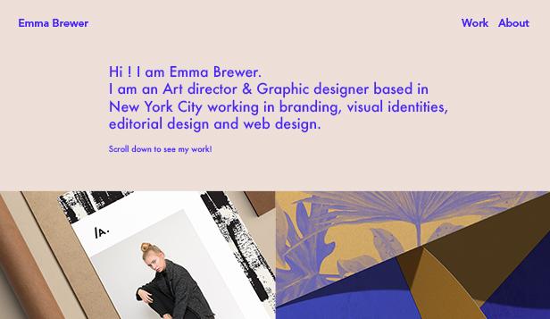 Portfolio Website Templates Design Wix