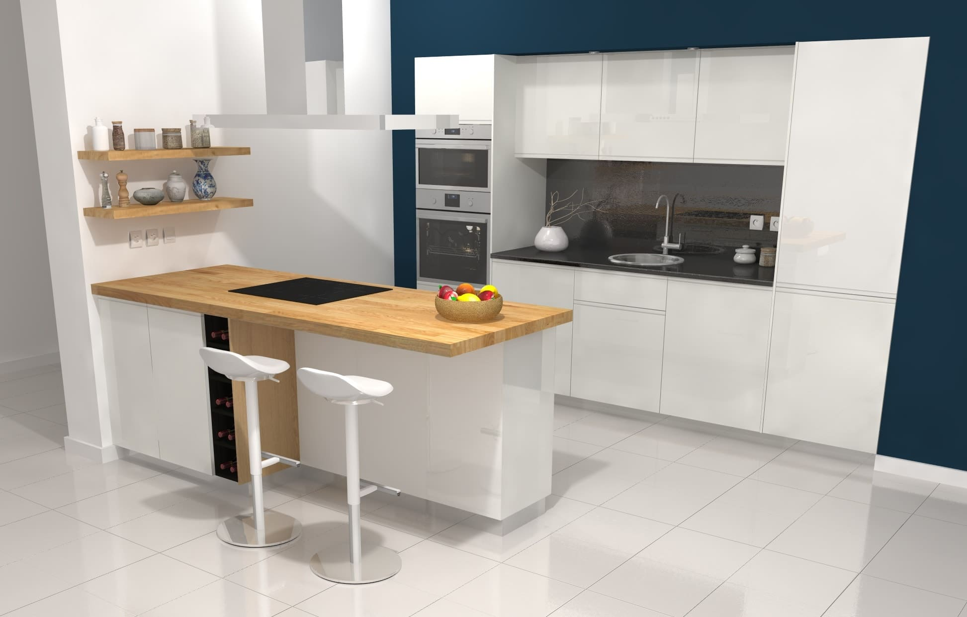 Cuisine Ikea Sketchup Dynamique Agencement 3d Kitchen Software