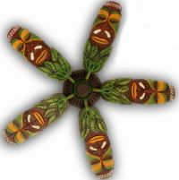 Jeff Hoppis,Exotic Ceiling Fans, Funky Frog Paintings ...