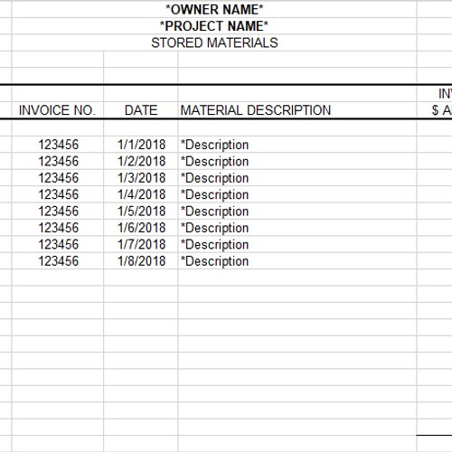 free construction submittal form template