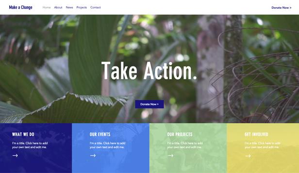 Religion  Non Profit Website Templates Community  Education Wix