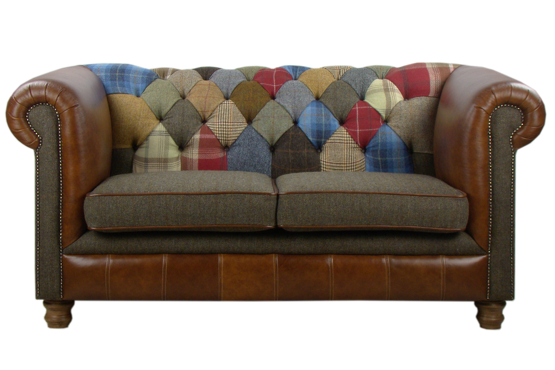 Canapé Chesterfield Patchwork Canapé Chesterfield Patchwork