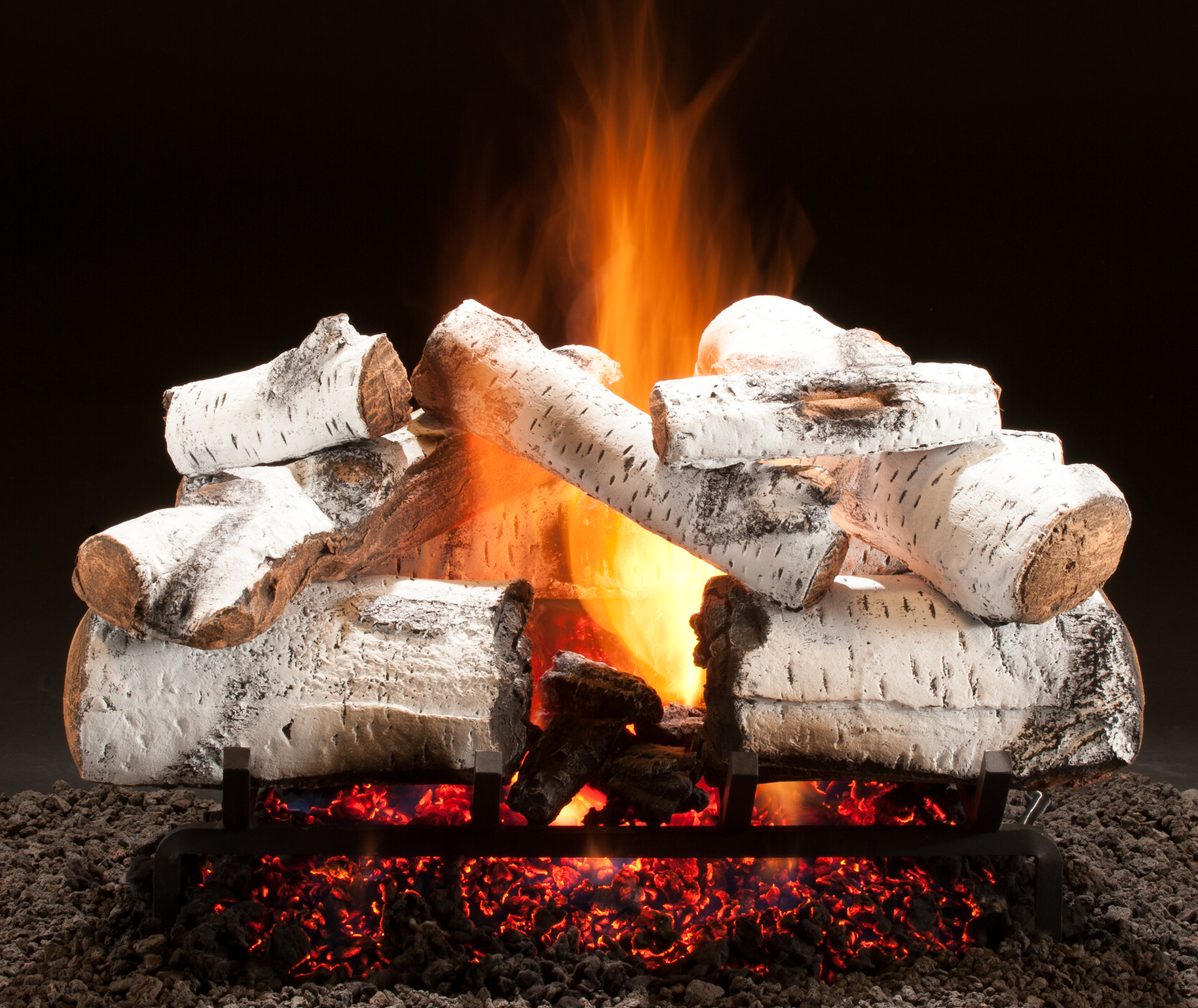 Ceramic Logs For Gas Fireplace Gas Logs Home Hargrove Premium Products