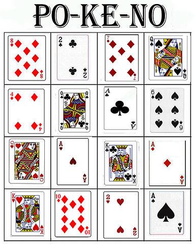 senior-craftsite Games - Pokeno - Bingo