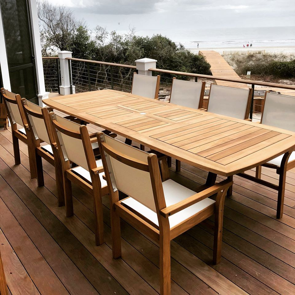 Teak Furniture Dinning Tables Fairfield County Connecticut