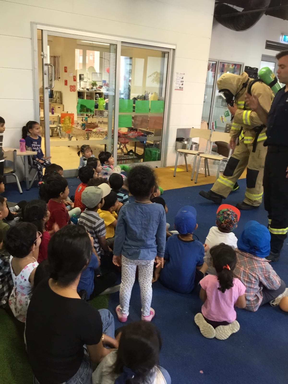 Child Care Centres Parramatta Parramatta Fire Brigade Visit Little Bees Child Care Centres