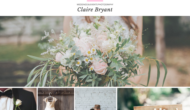 Photography Website Templates Wix - 3