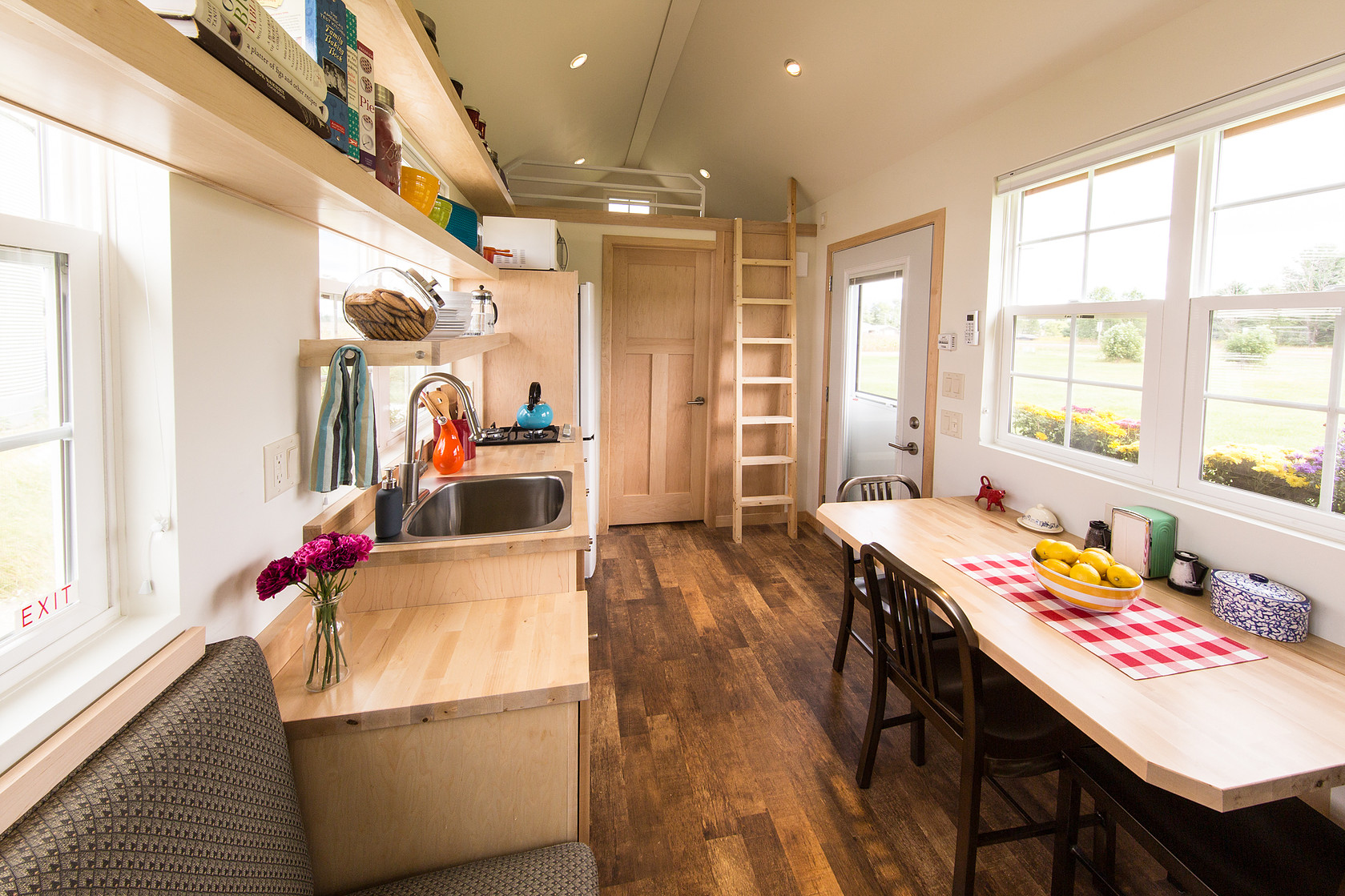 Classic Bedroom Escape Features Tiny Houses