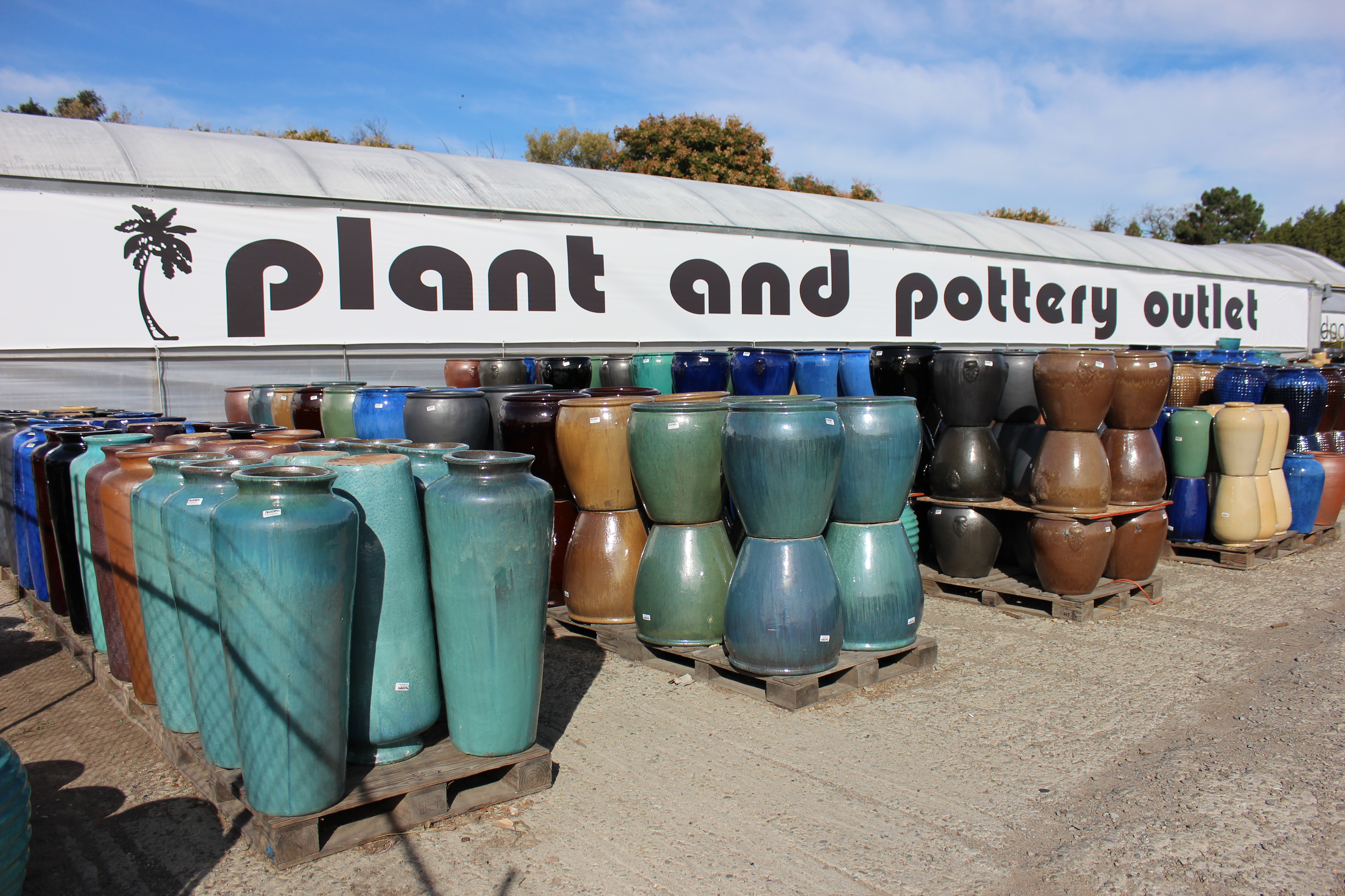 Outdoor Planters Near Me Plant And Pottery Outlet Sunol California Usa