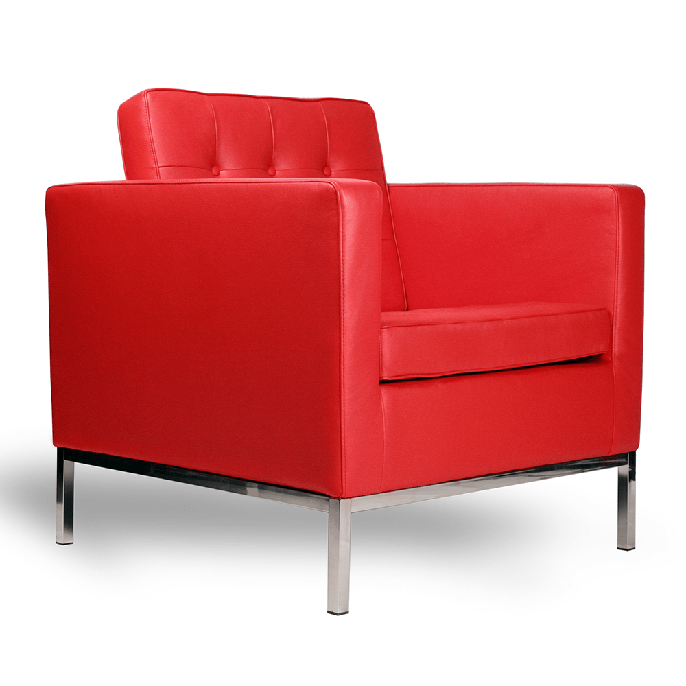 Florence Knoll Sessel Florence Knoll Style Sessel Rot