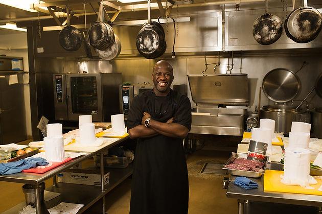 Meet the Team Executive Banquet Chef Aboubacar Kouyate Normandy
