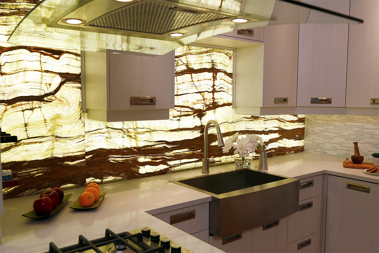 Bamboo Backsplash Designerstone Panels Official Site Thin Stone Panels