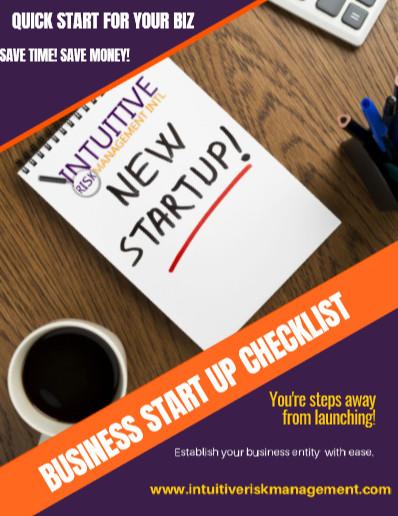 Quick Start Guide Small Business Checklist