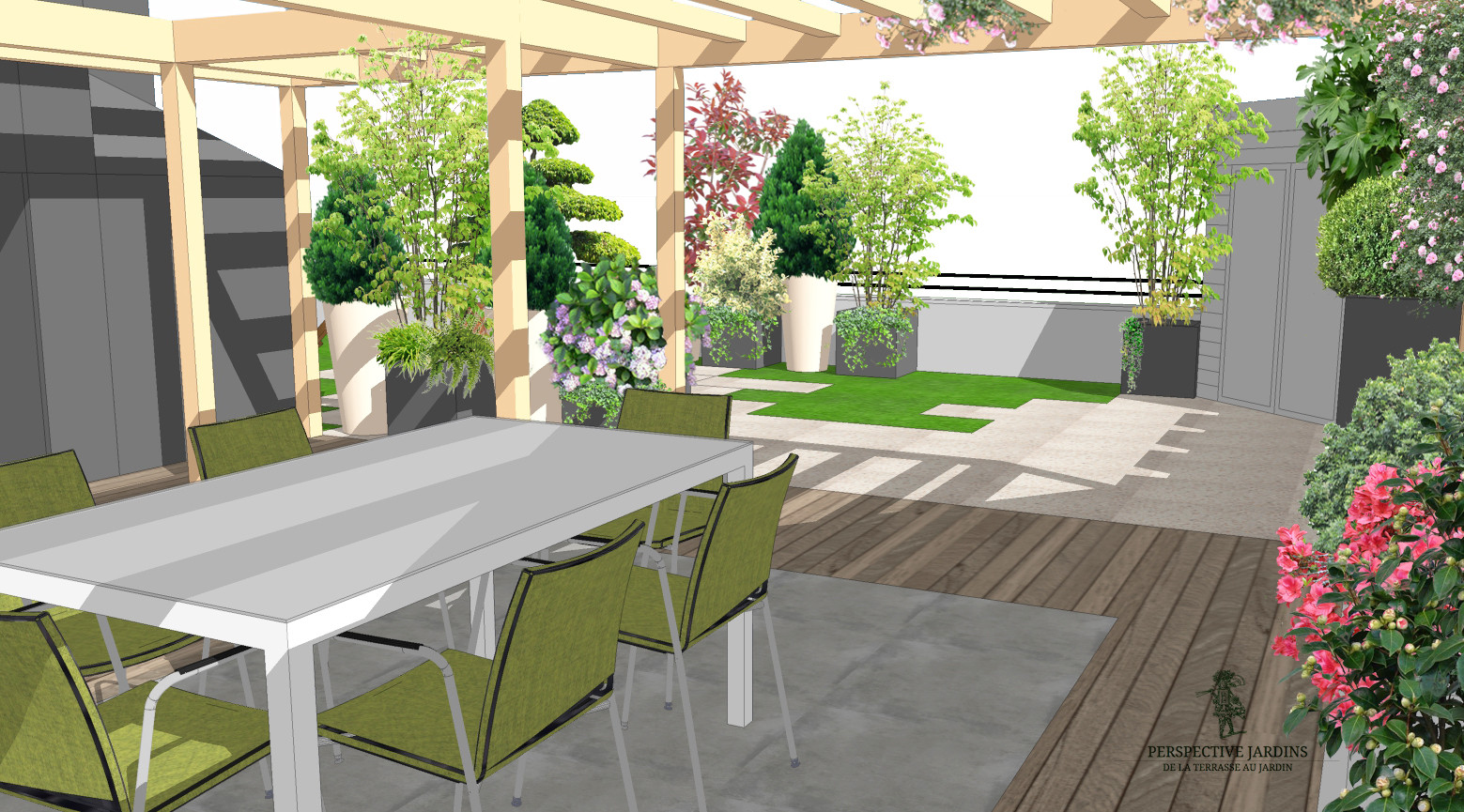 Appartement Terrasse Jardin Yvelines