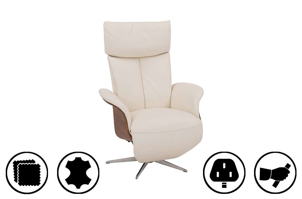 Sofas For Sale Eastbourne Horsens Medium Recliner Chair With Integrated Footrest