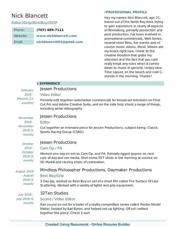 creative resume builder apk