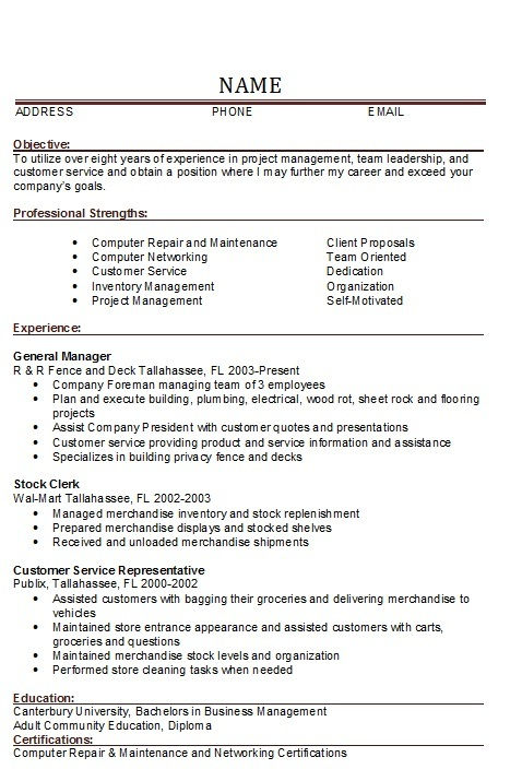 hvac resume examples hvac resume template mdxar project manager hvac resume project manager resume project management - Restaurant Management Resumes
