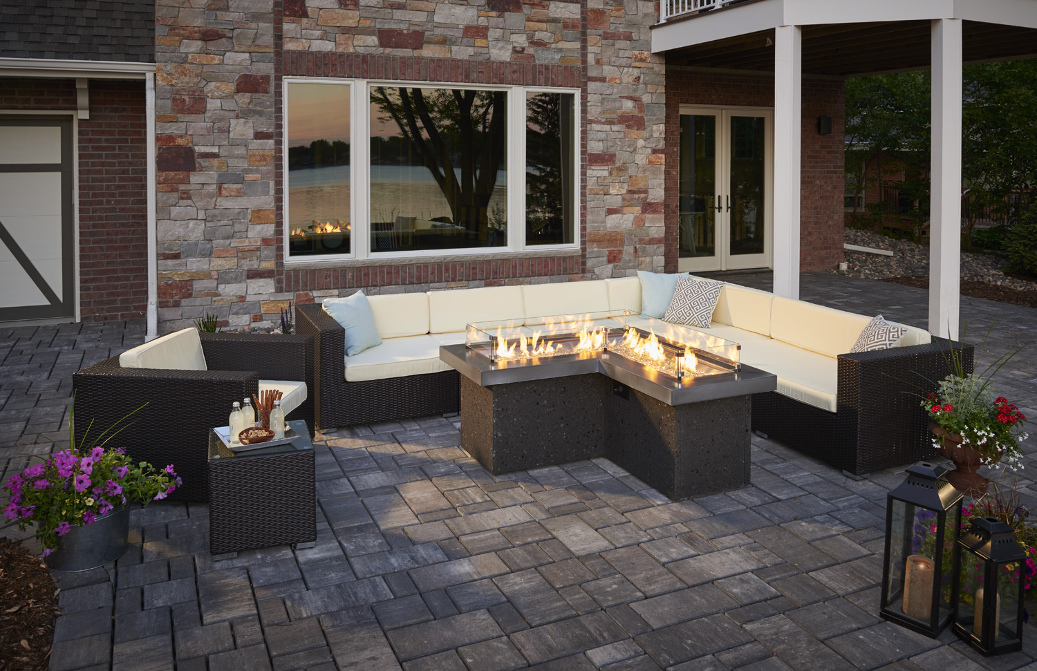 Gas Fireplace Tune Up Minneapolis Gas Fire Pit Tables Burnsville Mn Wissota Outdoor Living