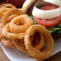 Sriracha Onion Rings.....Gluten Free | Let's Be Vegan ...