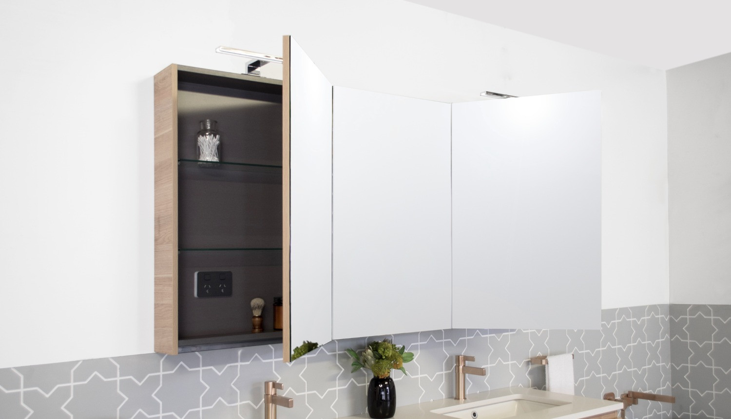 Recessed Shaving Cabinets Moonlight Shaving Cabinet Architectural Designer Products