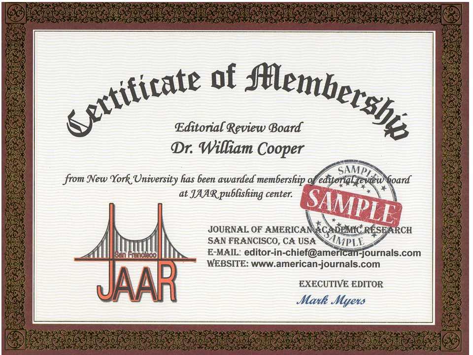 Membership Certificate Templates   Coverletter.csat.co