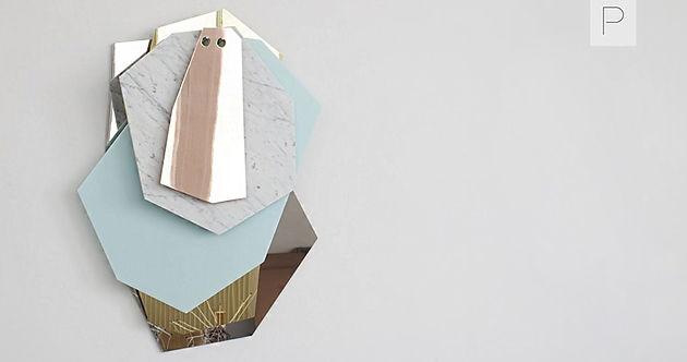 Facet Pattern Mirror by Arik Levy Prodeez Product Design - Facet Design Pattern