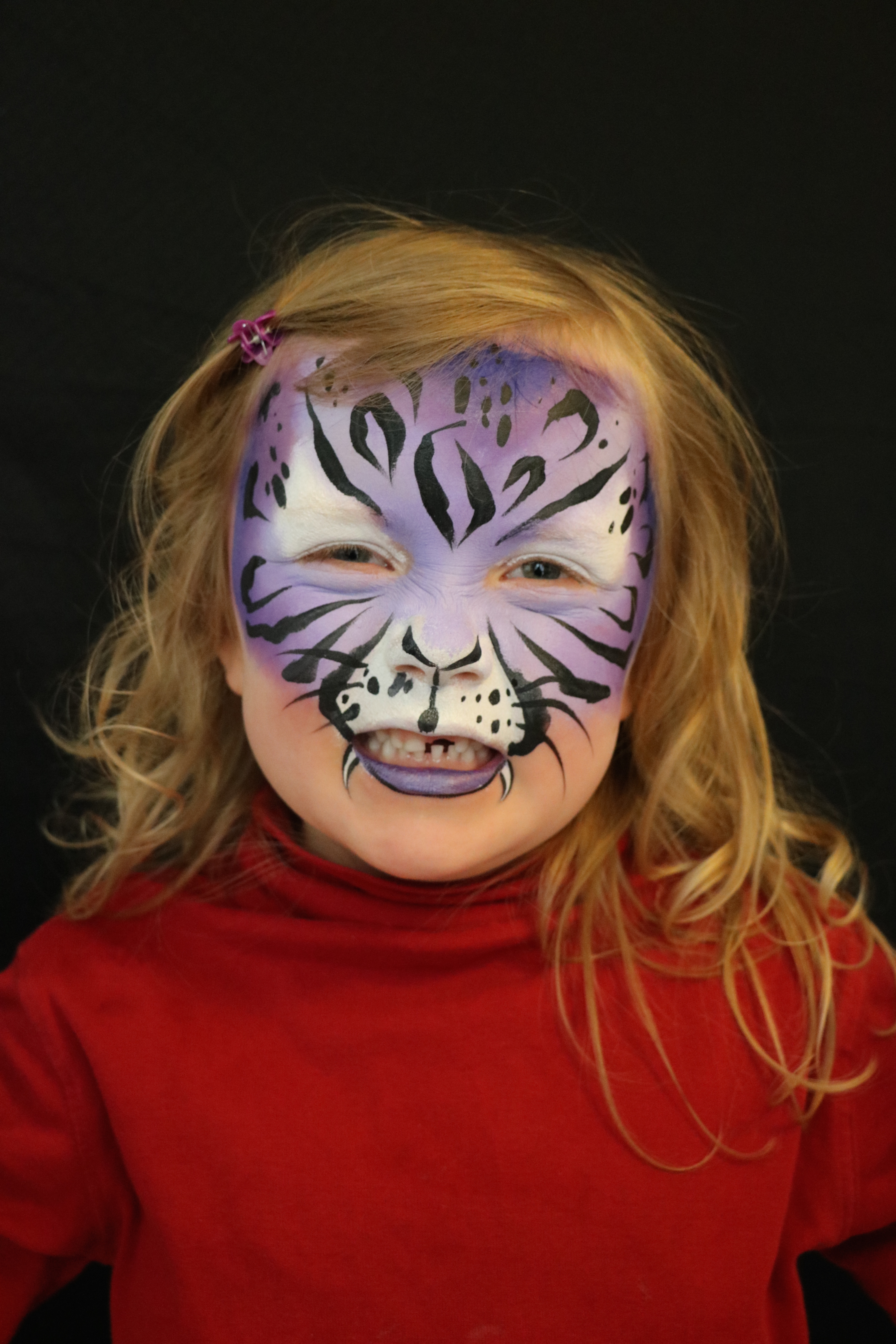 Kinderschminken Tiger Bildergalerie I Fine Lines Face And Body Art I Leipzig