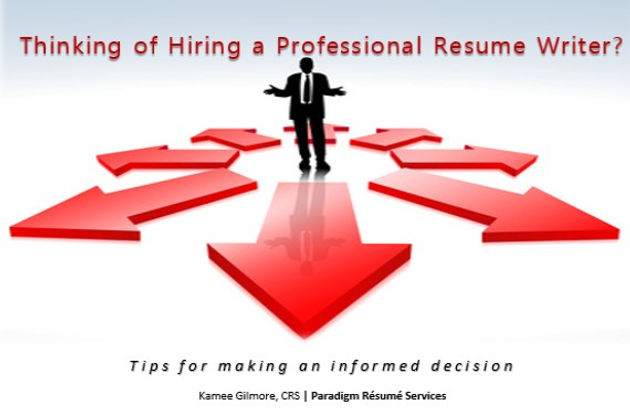 Thinking of Hiring a Professional Resume Writer? Tips for making an