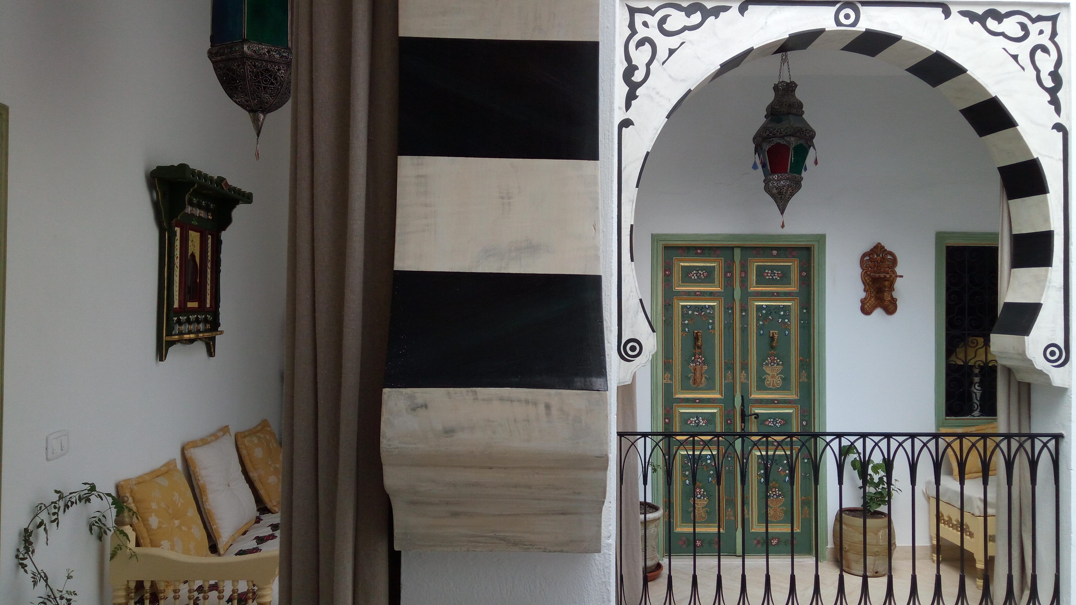 La Chambre Bleu Tunis Gallery El Patio Courtyard House Tunis Always Best Price